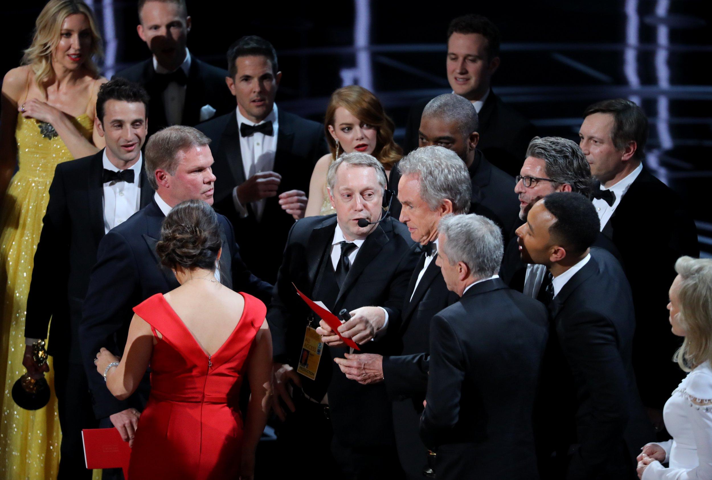 Oscars blunder