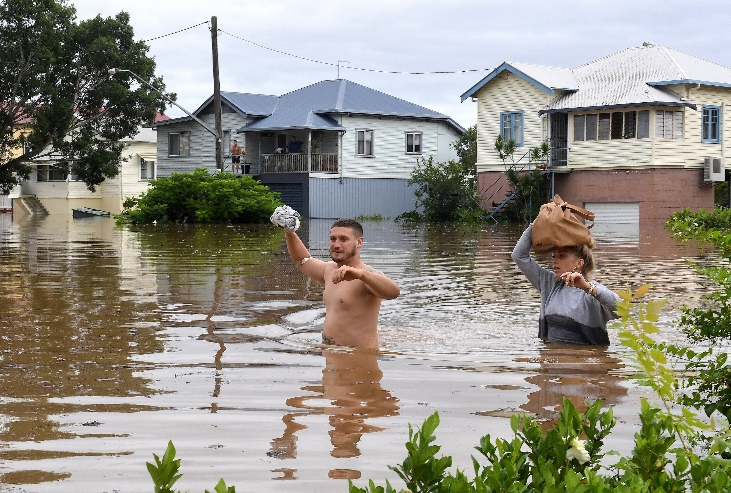 Cyclone Debbie in Australia
