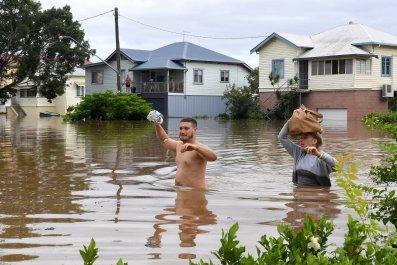 Cyclone Debbie in Australia