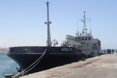 Aris 13 Somali pirates