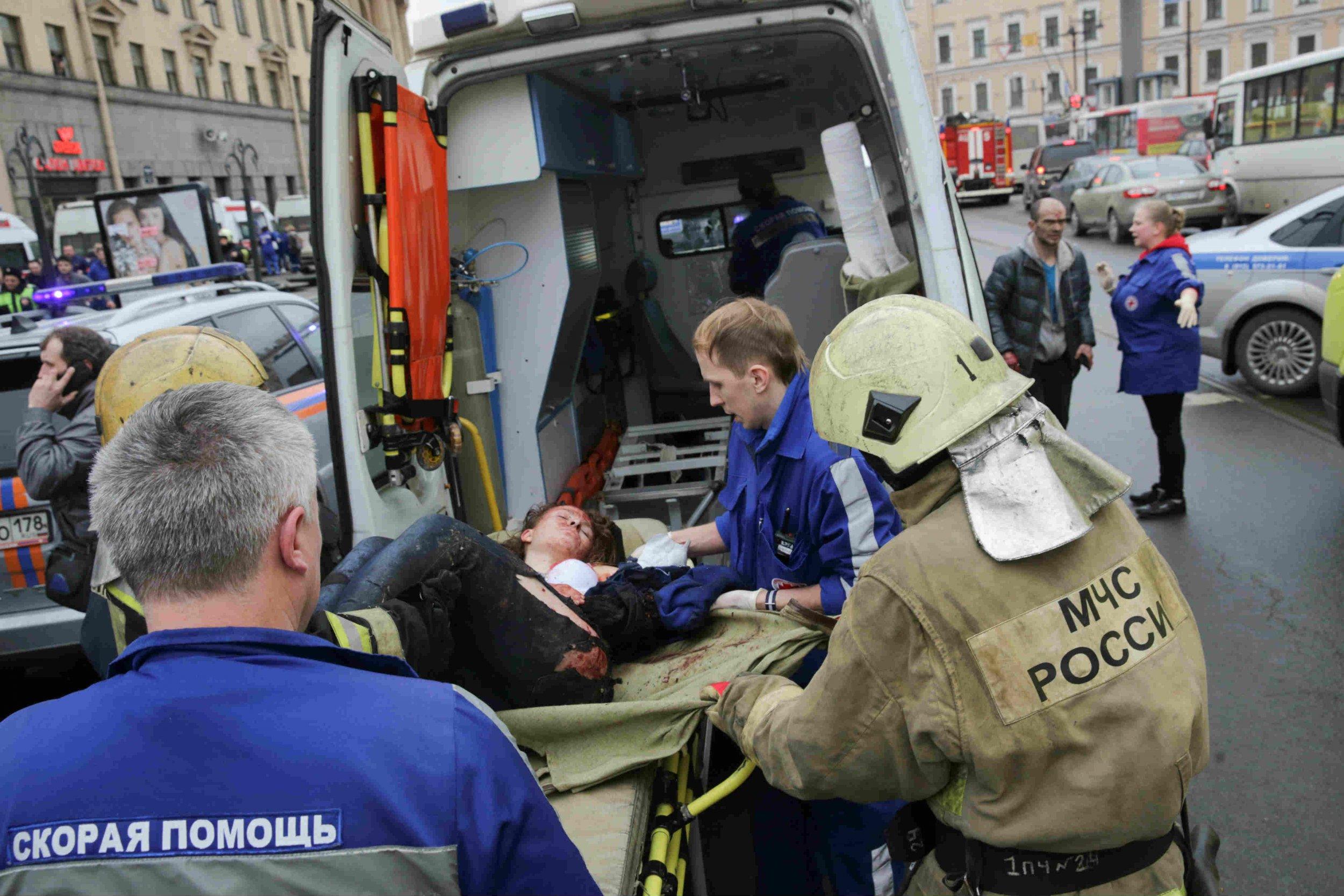 St Petersburg attack