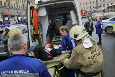 St Petersburg attack