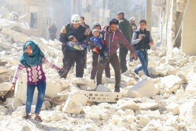 Idlib strike