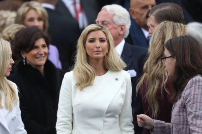 Ivanka Trump advocates for closing the pay gap