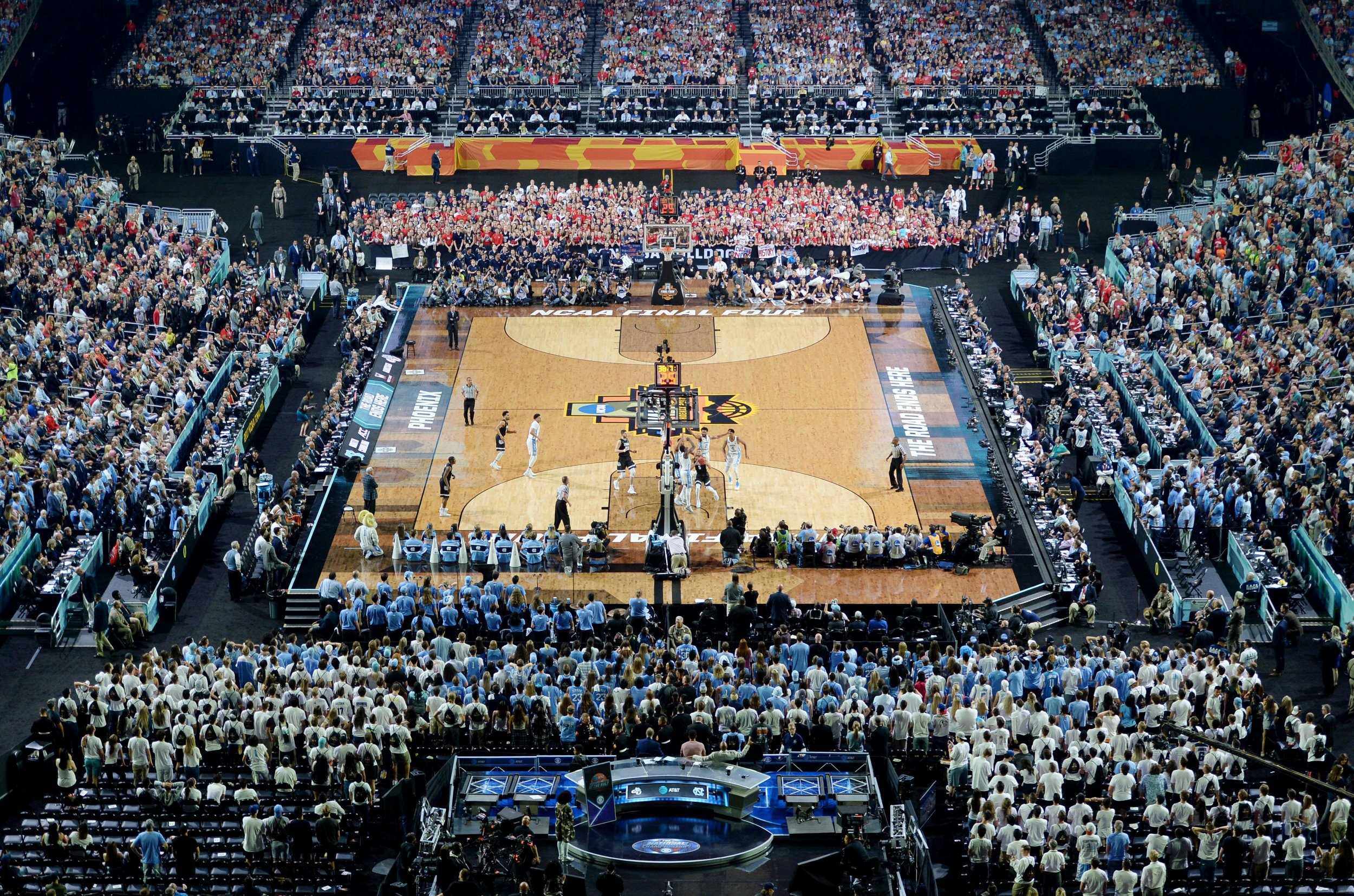 NCAA Basketball In Football Stadiums How We Got Here