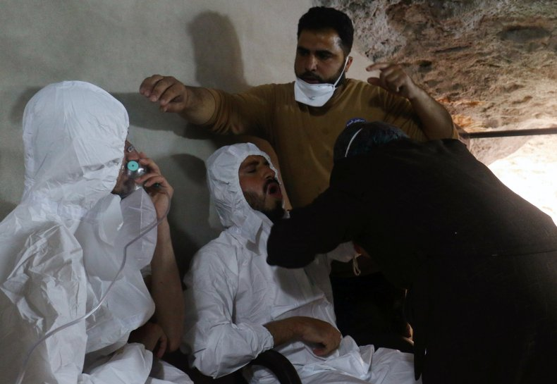 Syria chemical attack