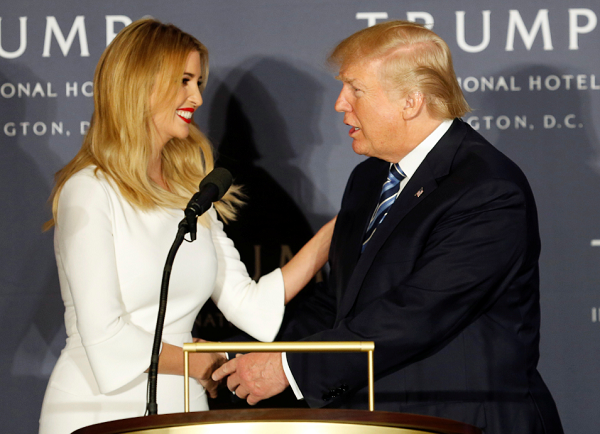 Majority of voters disapprove of Ivanka Trump's position in her father's administration