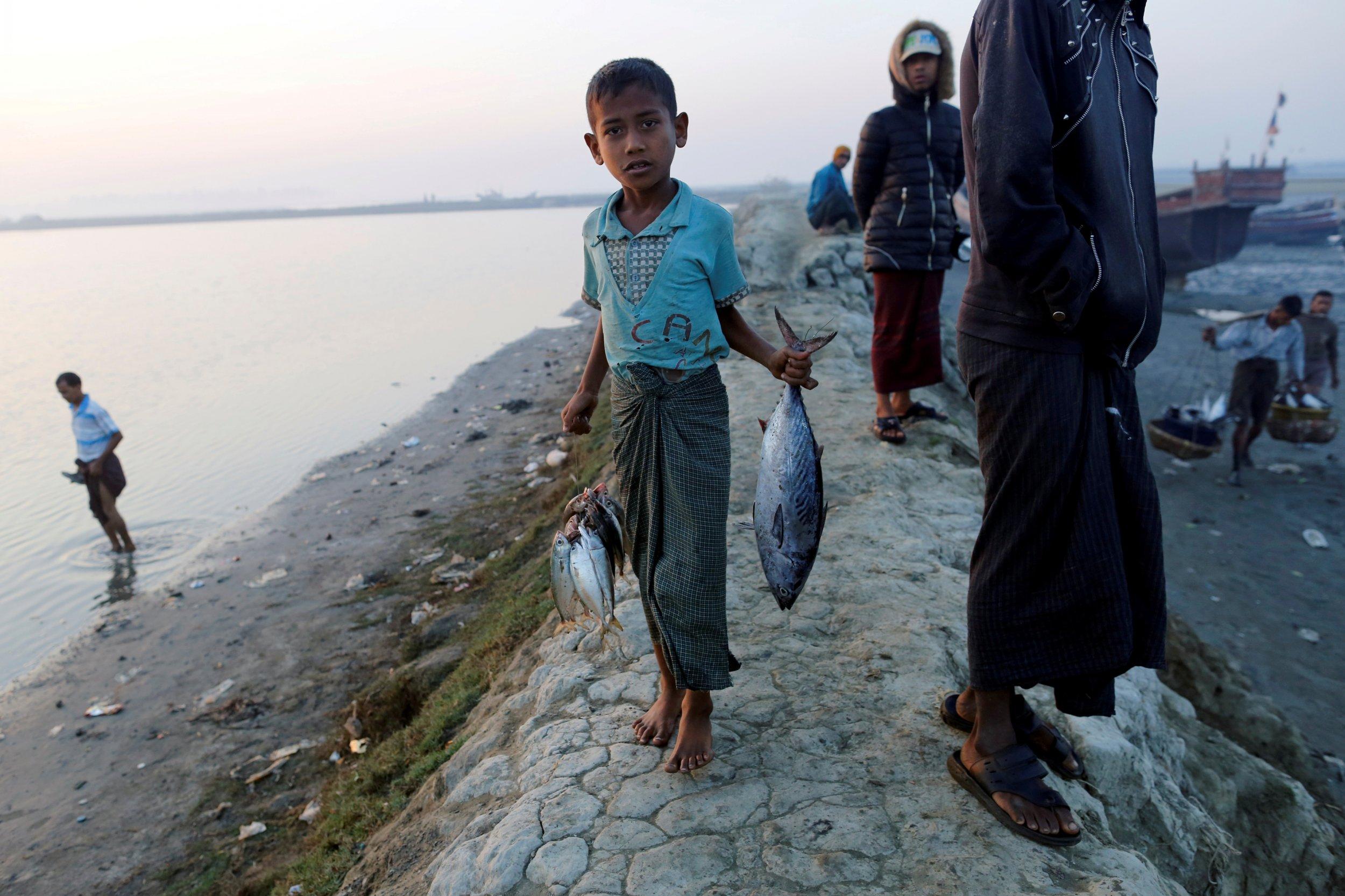 Rohingya boy