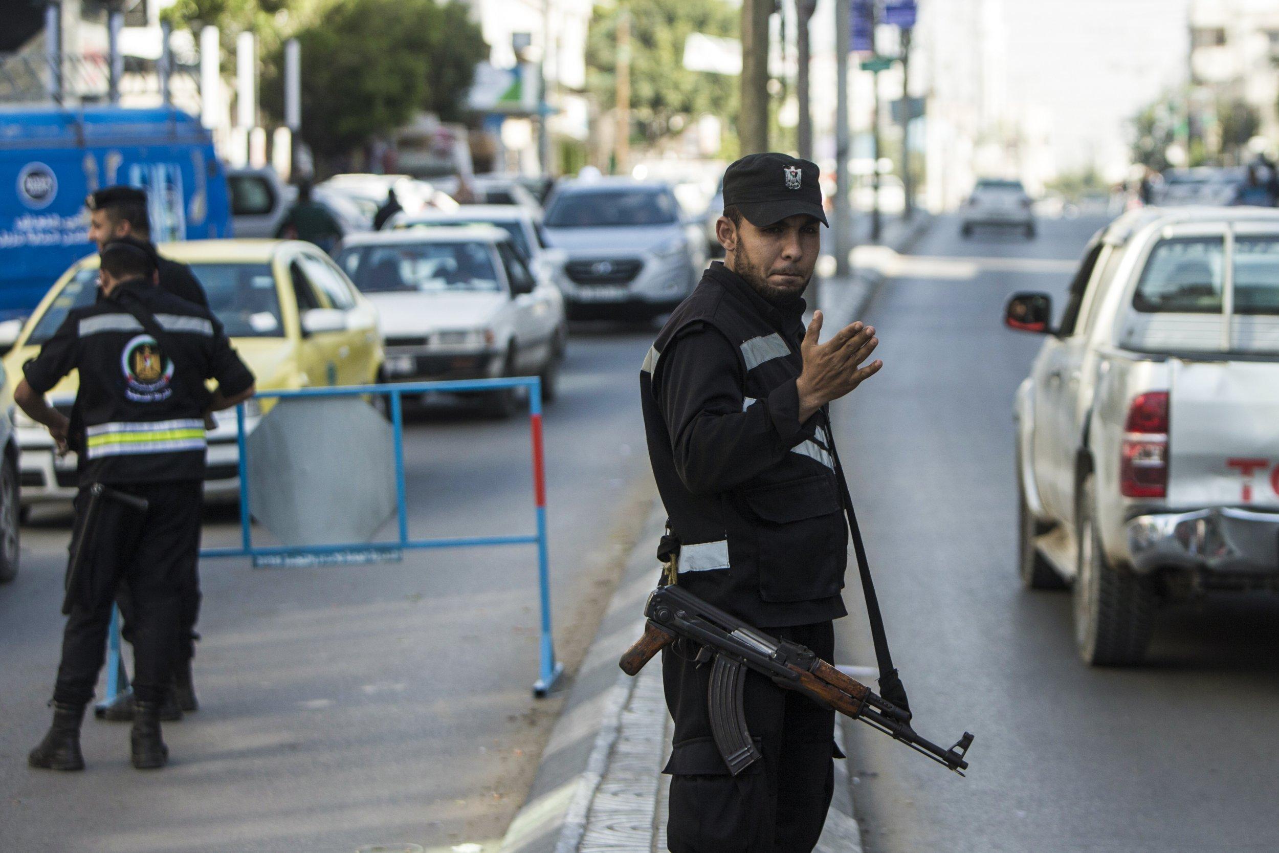 Hamas member in Gaza Strip