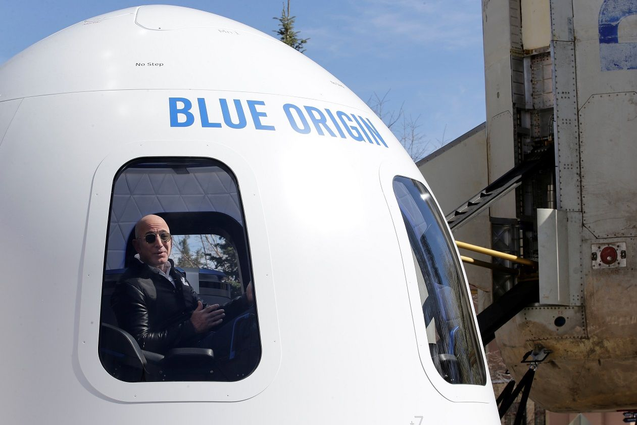 blue origin jeff bezos amazon stock