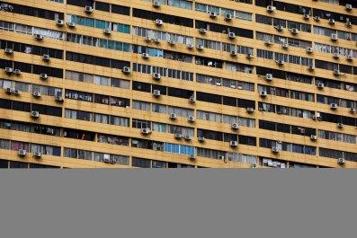 Singapore apartment block