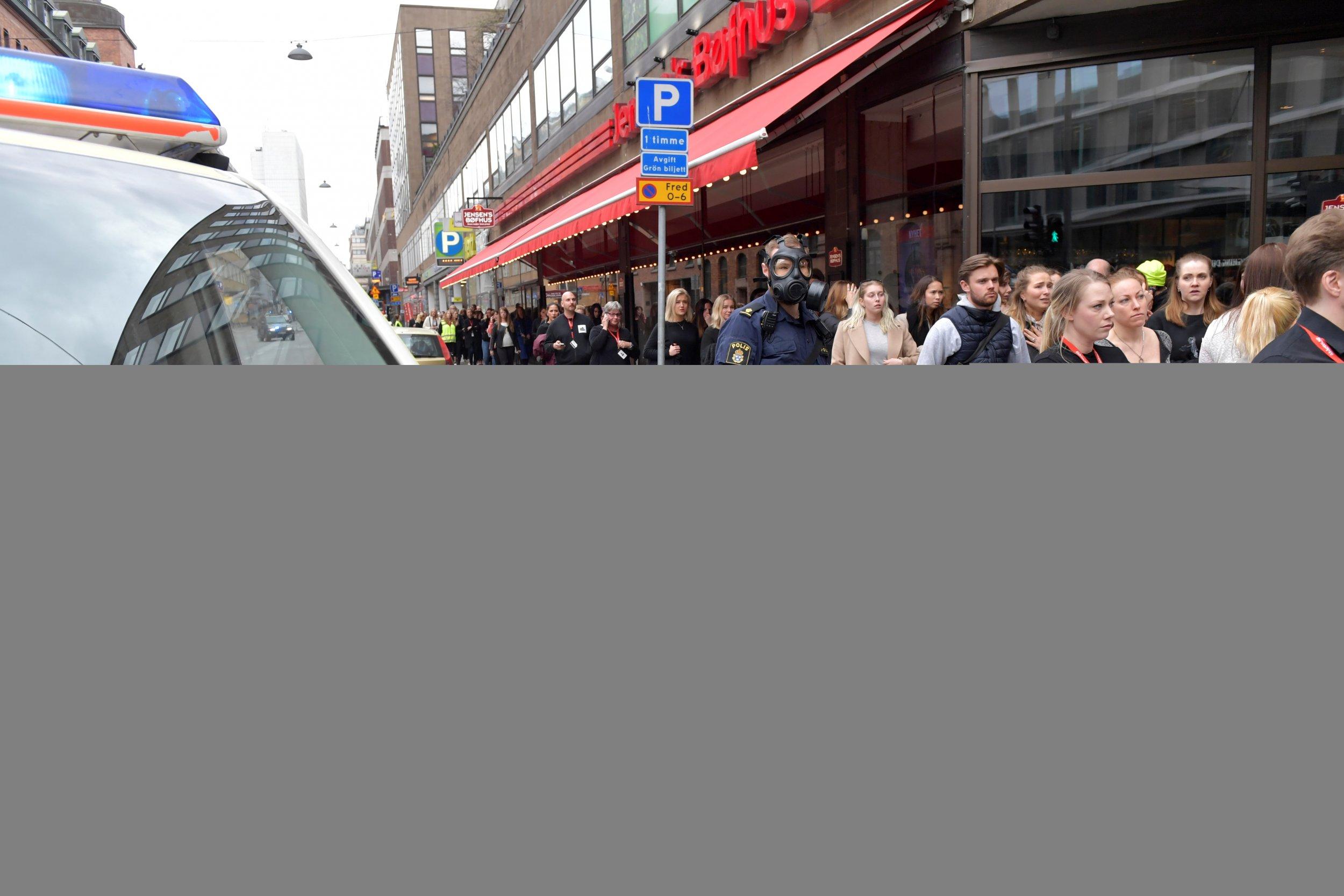 department store Ahlens stockholm