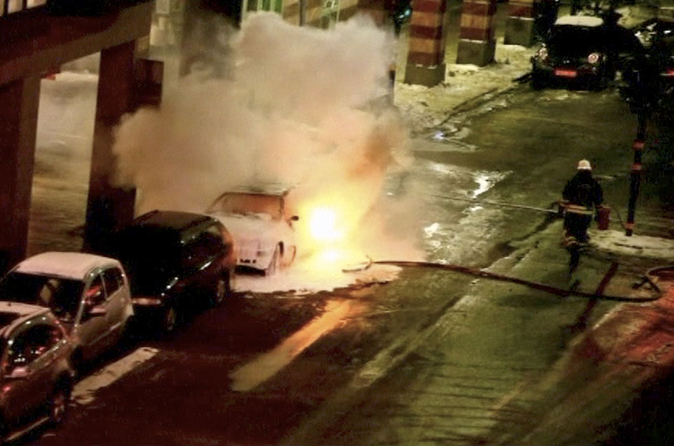 Stockholm car bomb failure