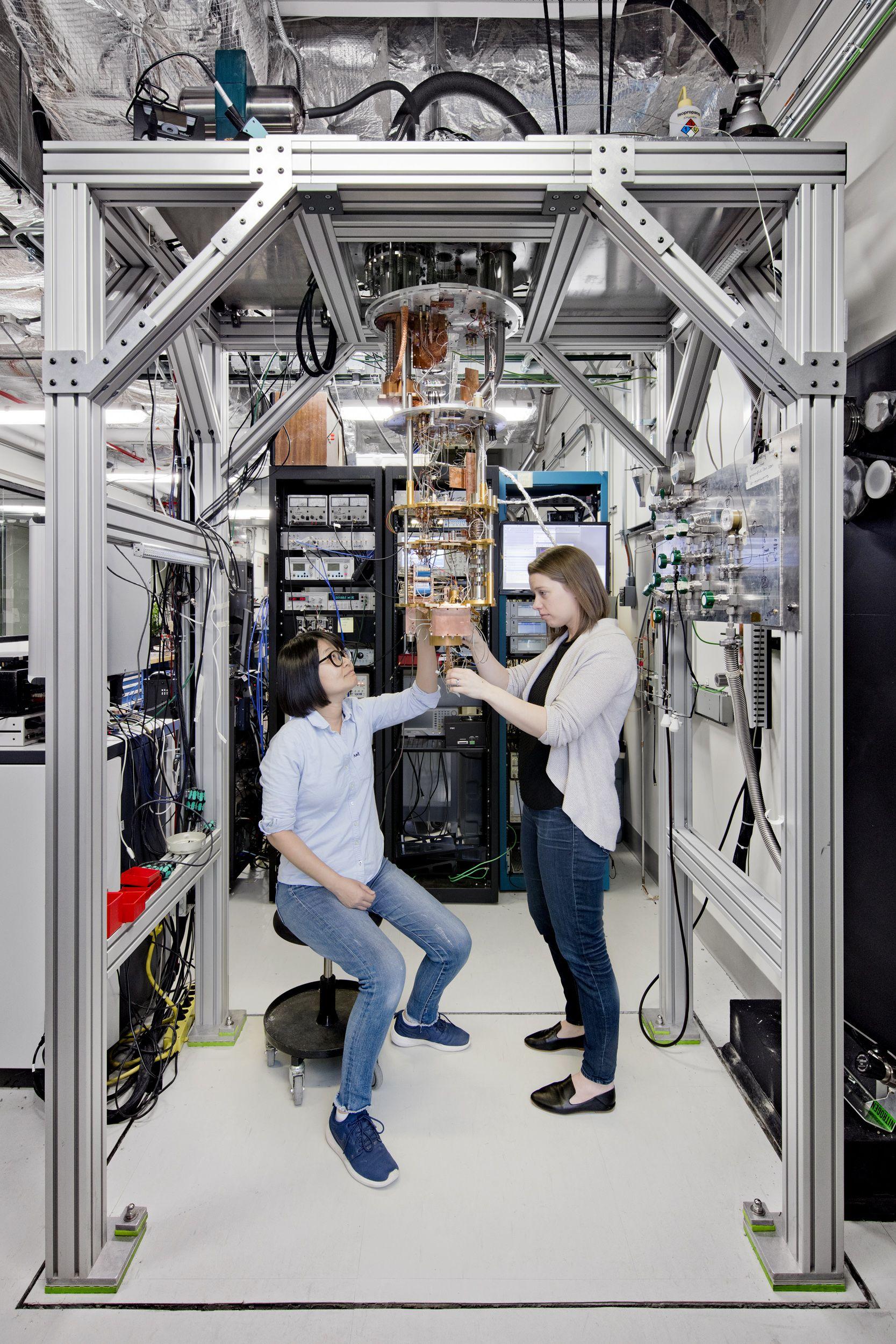 Quantum Computers - Magazine cover