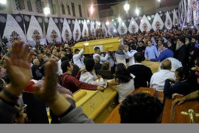 Coptic funeral