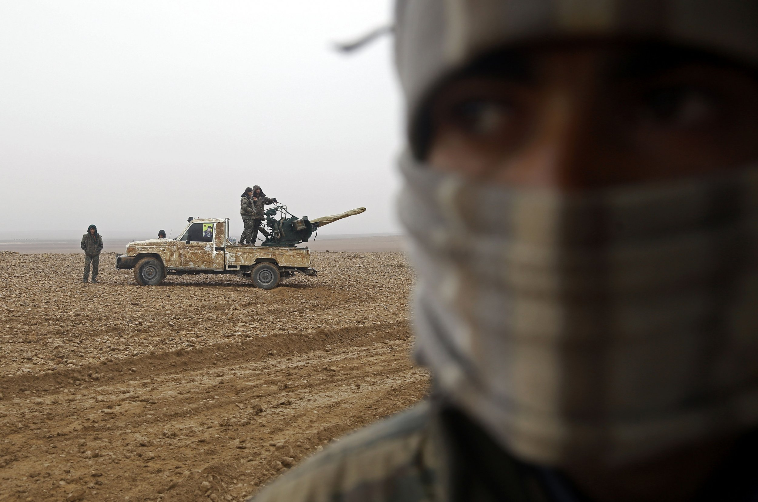 Syrian forces allied to Washington