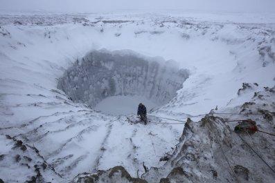 Siberia crater