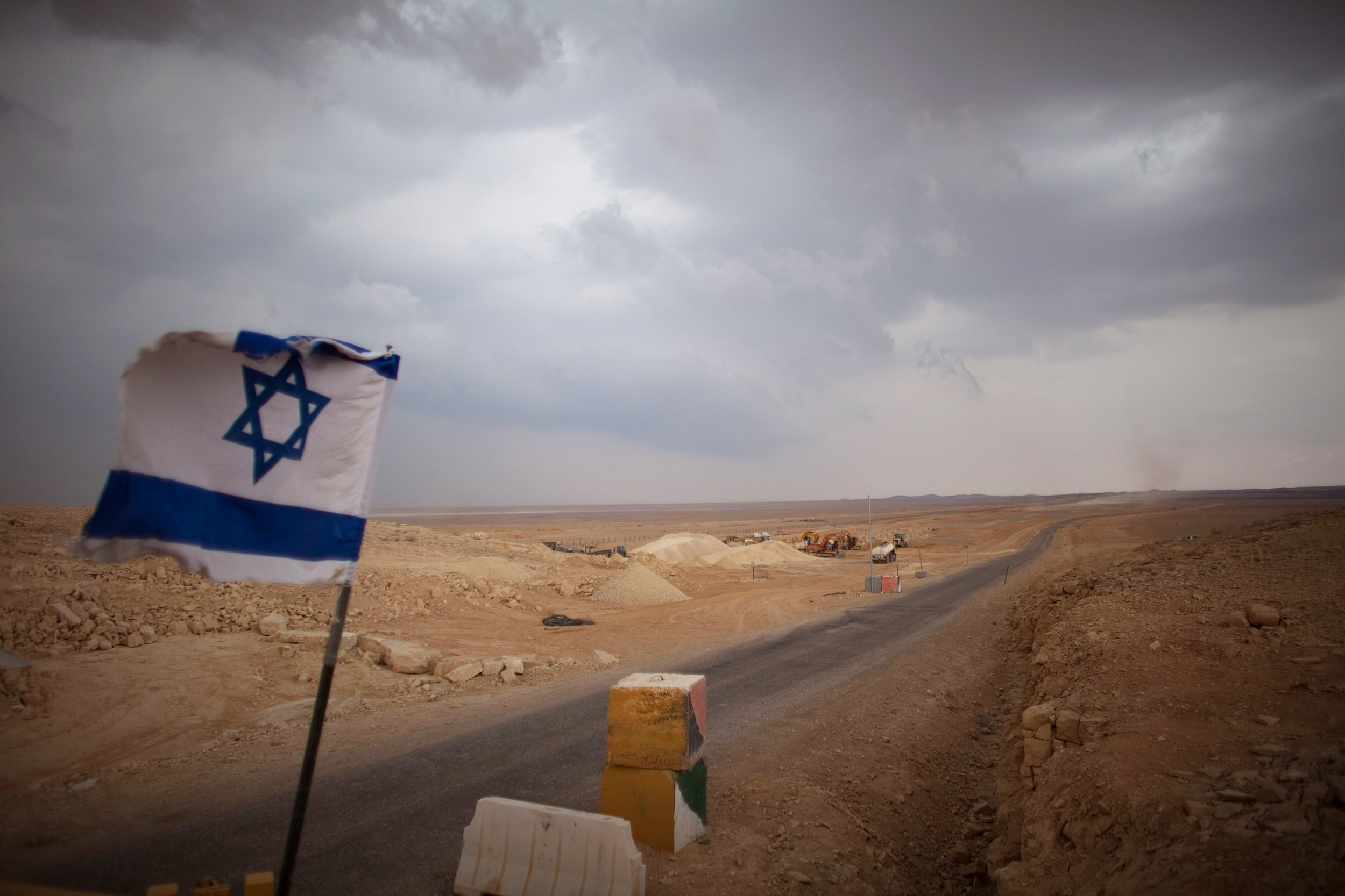 Israel border with Egypt