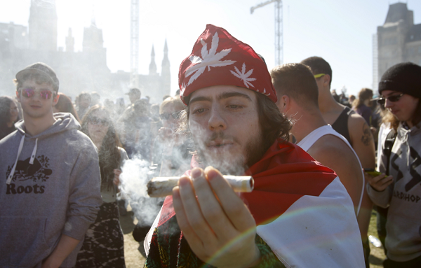 Canadian officials announced plans to introduce recreational marijuana laws soon.