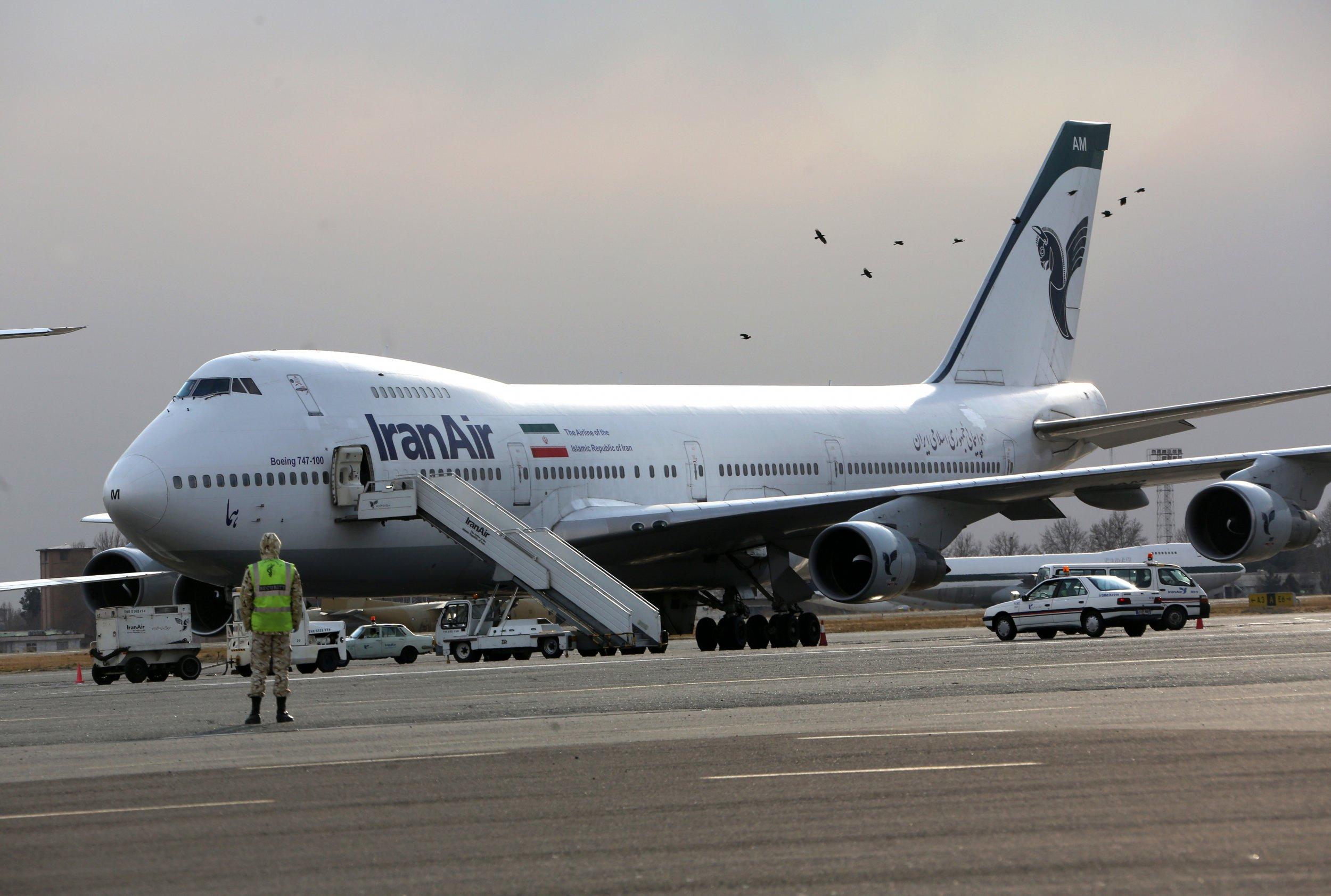 Iran Boeing plane