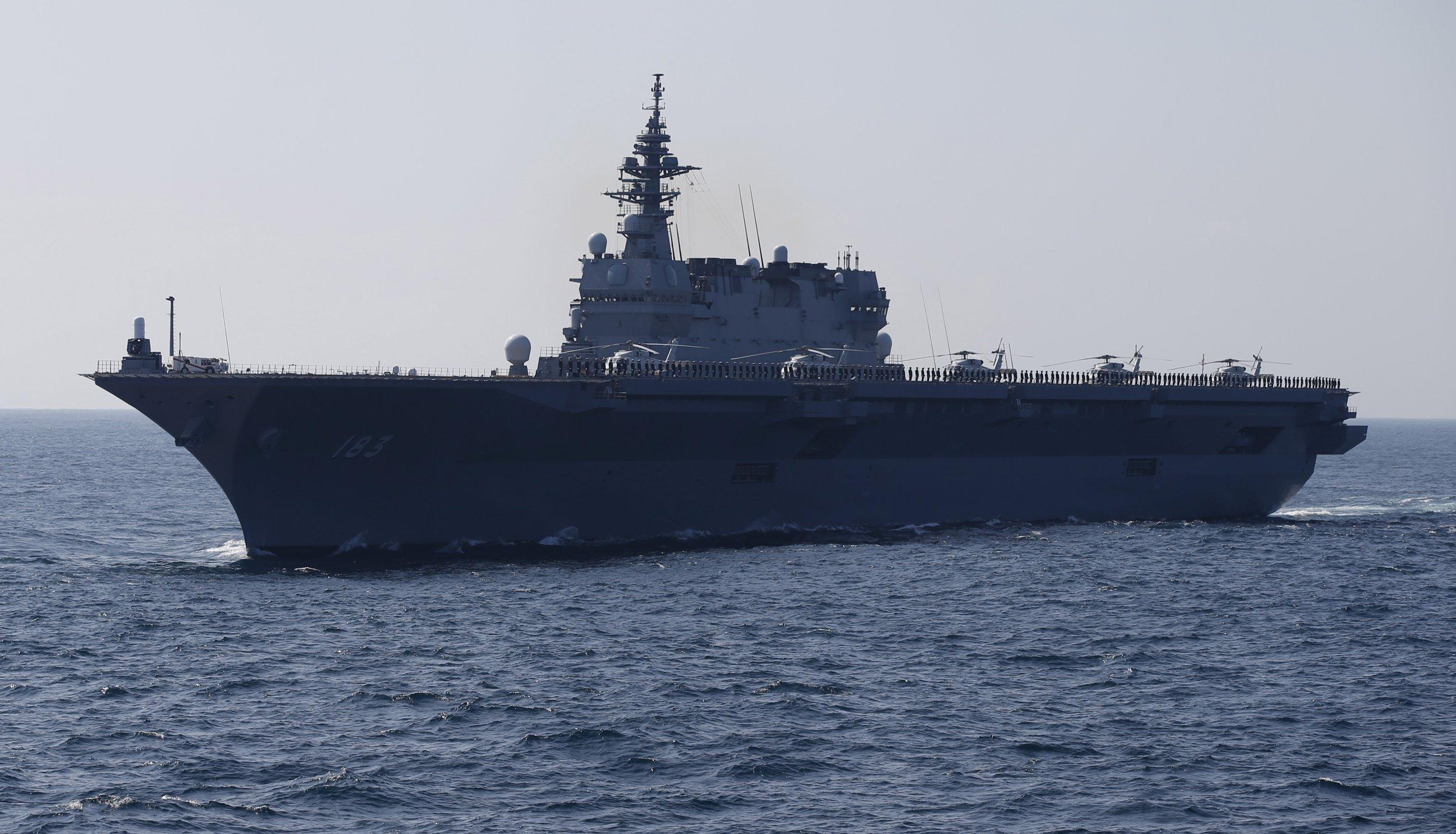Warship in Japan