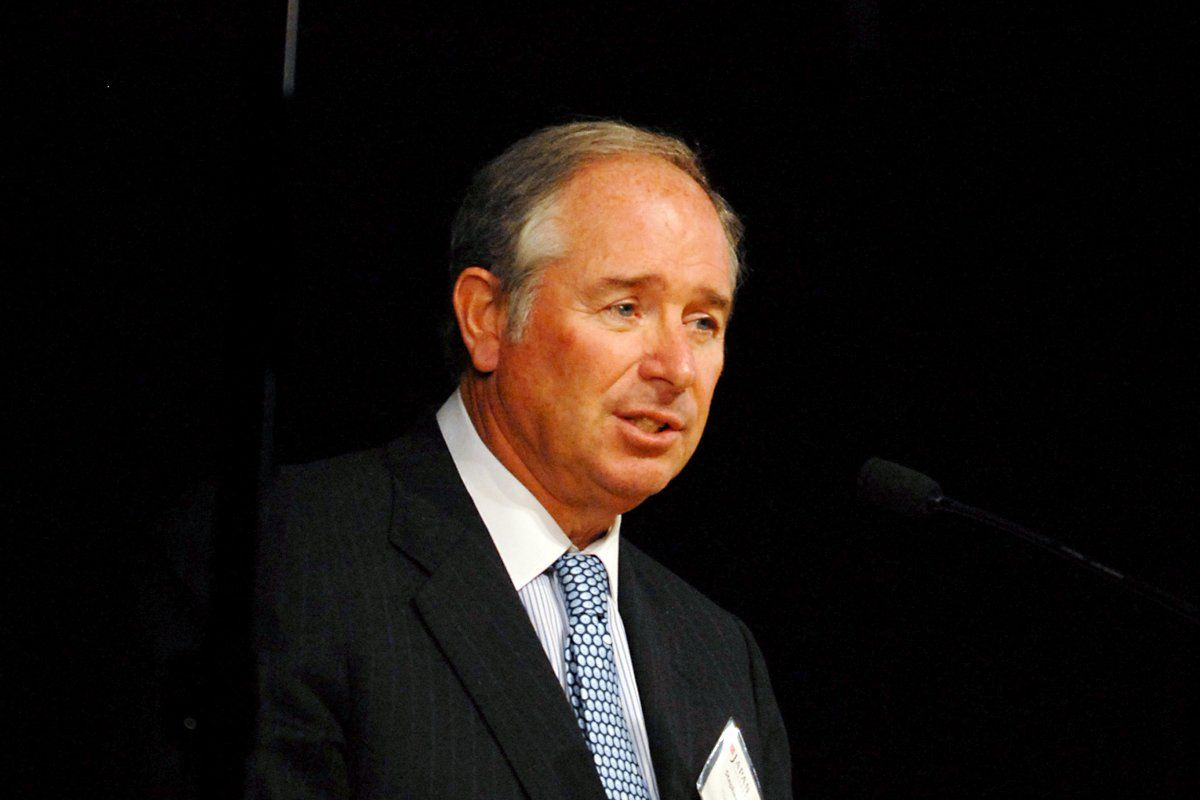 Blackstone Chairman Stephen Schwarzman