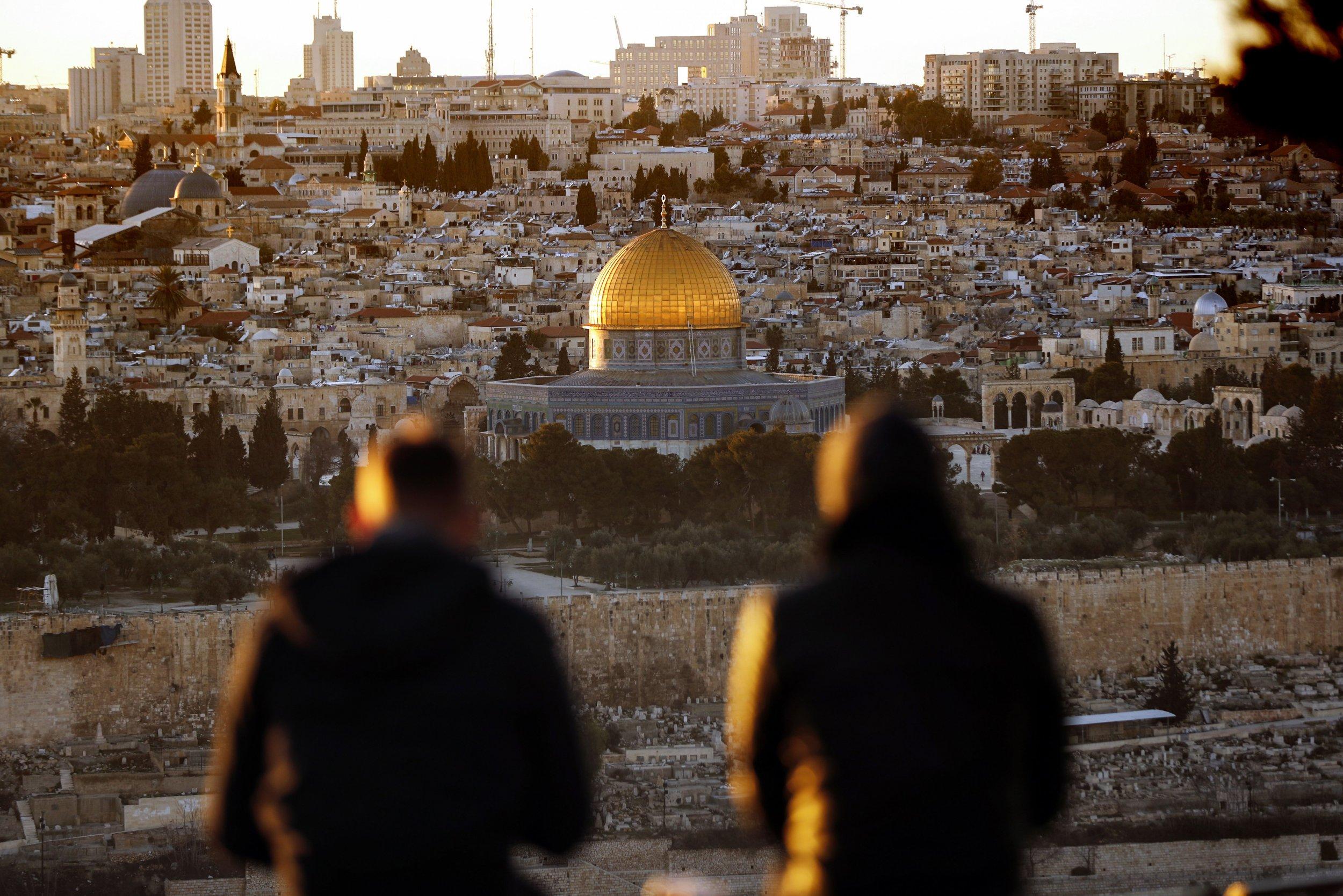 Jerusalem holy site