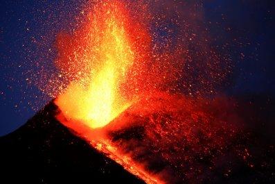Mount Etna eruption 2017