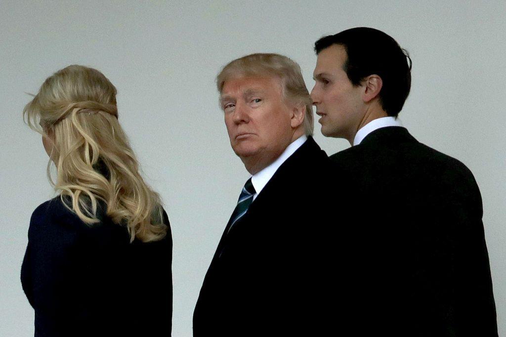 Ivanka Trump, Jared Kushner, Donald Trump