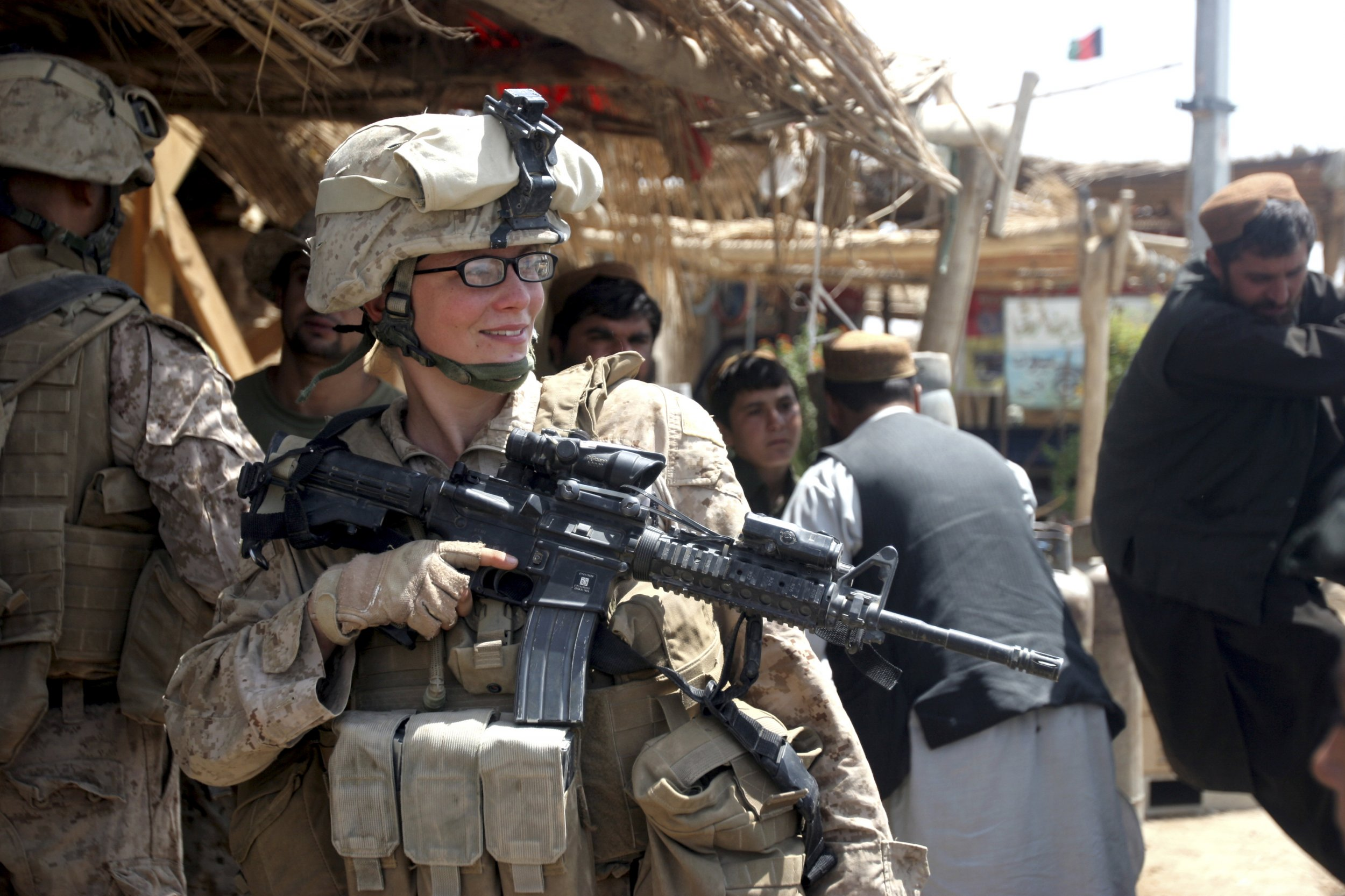 Rather Femal naked marine afghanistan topic simply