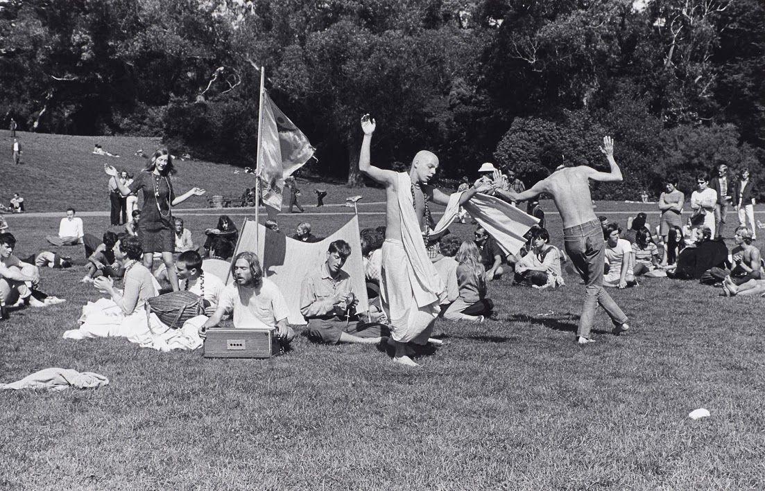 Baruch_Hare Krishna Dance in Golden Gate Park