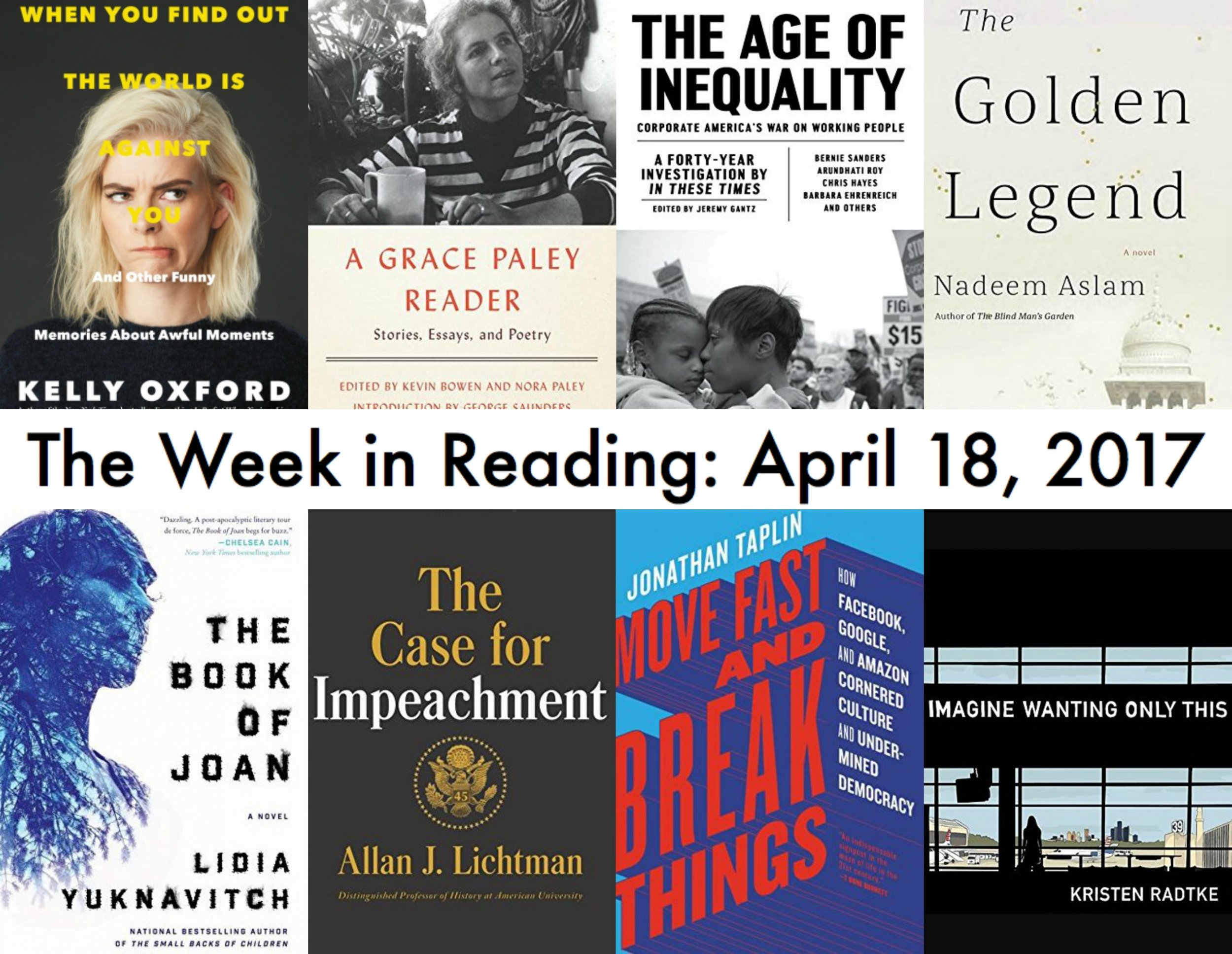 the week in reading the best new book releases for april