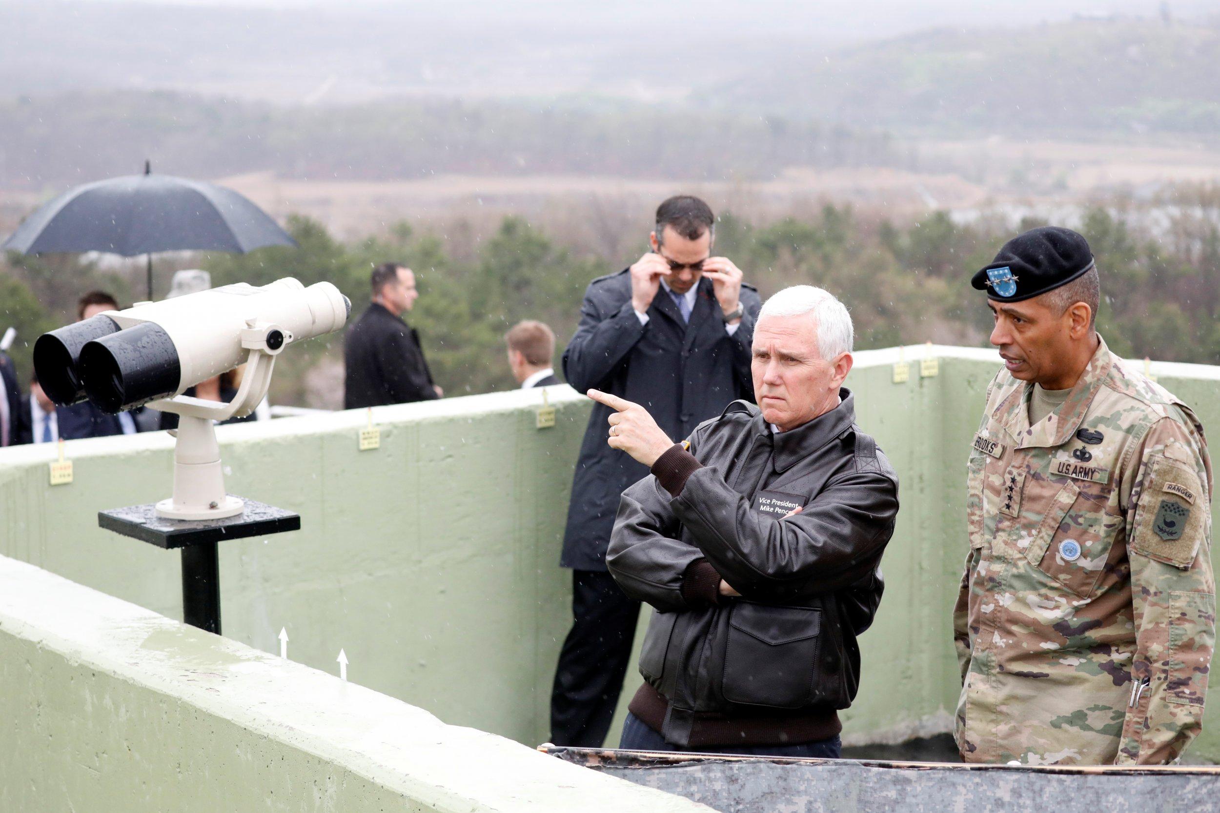 Mike Pence DMZ