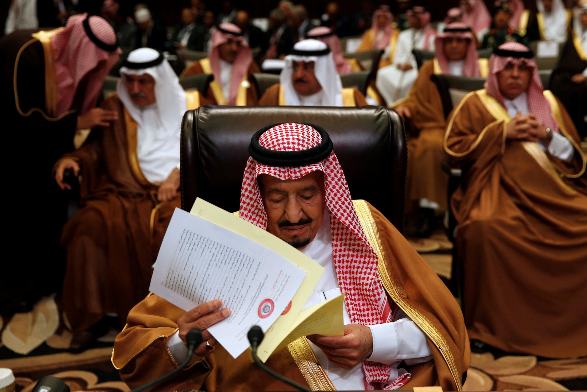 Saudi King Salman in Jordan