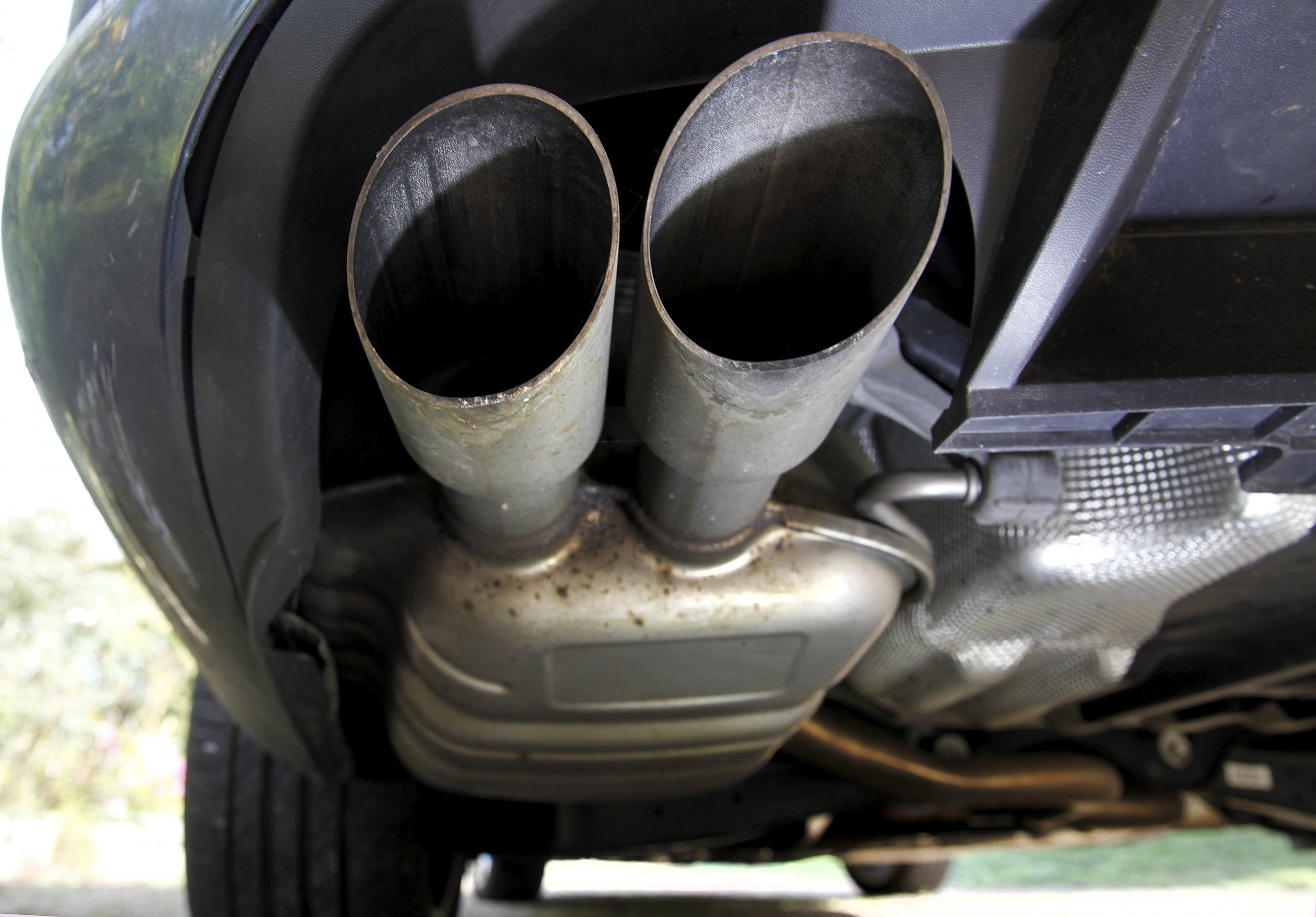 Diesel exhaust pipes