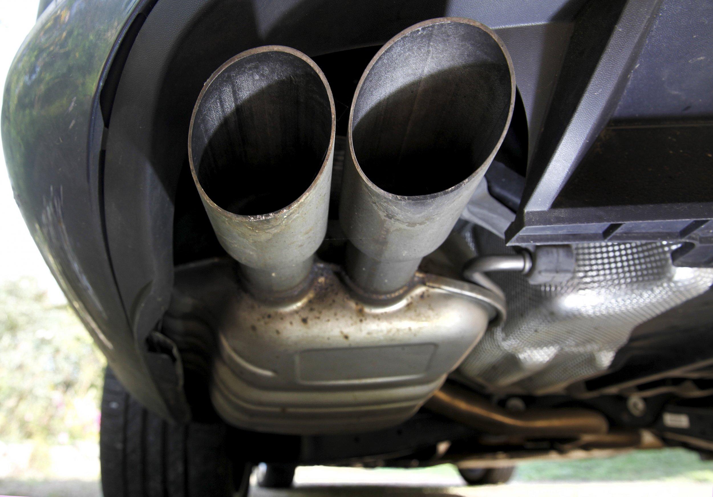 Diesel exhaust pipes