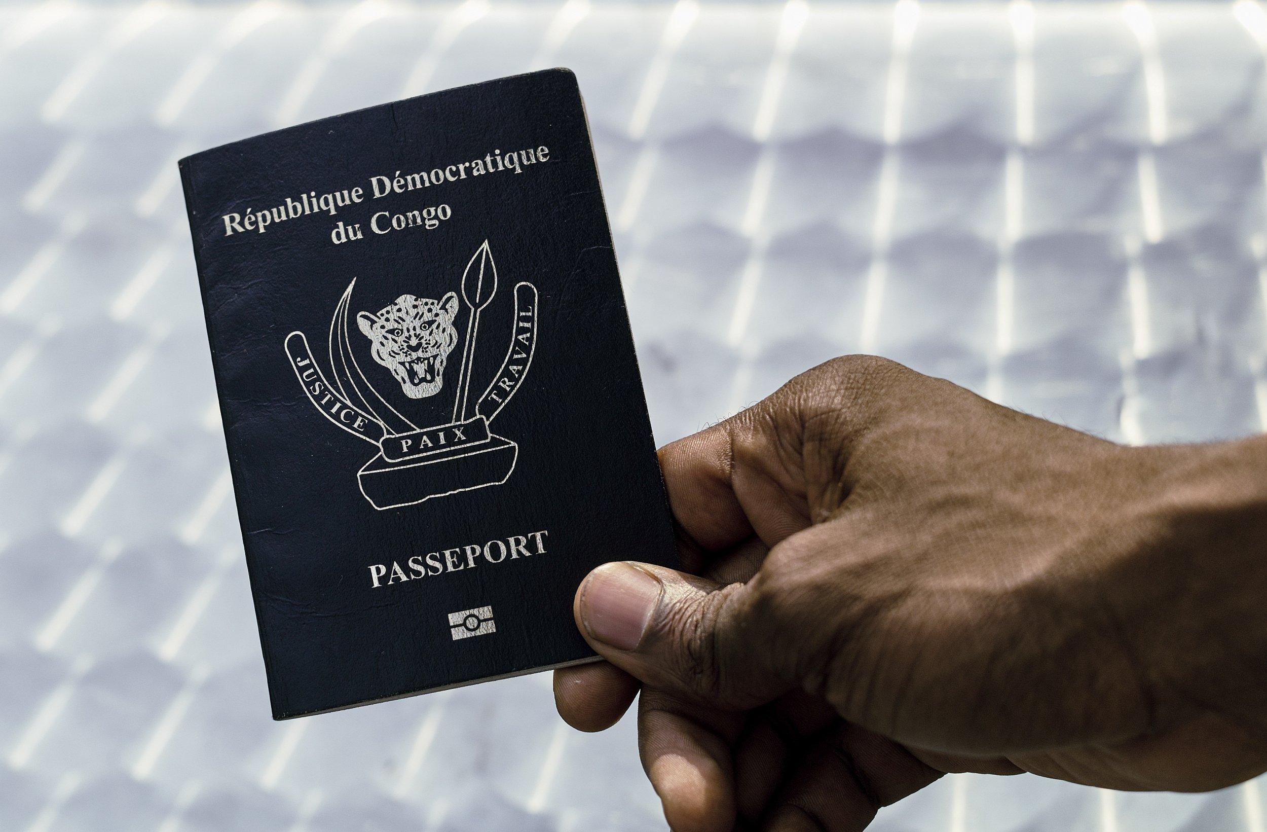 Congo passport