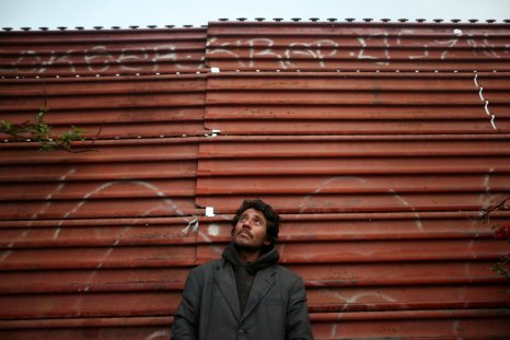 An undocumented migrant