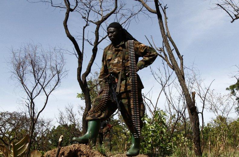 Uganda soldier hunting LRA