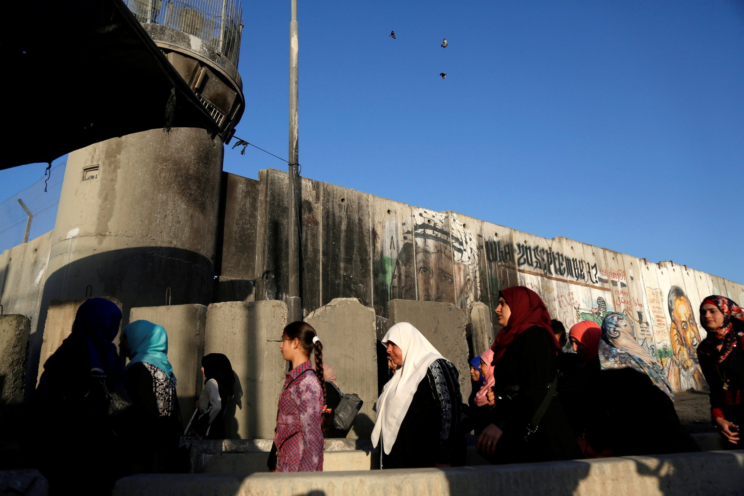 Israel checkpoint