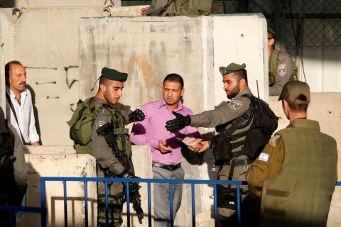 Israeli checkpoint 2
