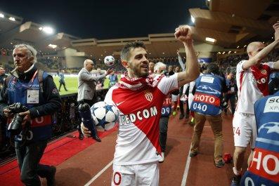 AS Monaco winger Bernardo Silva.