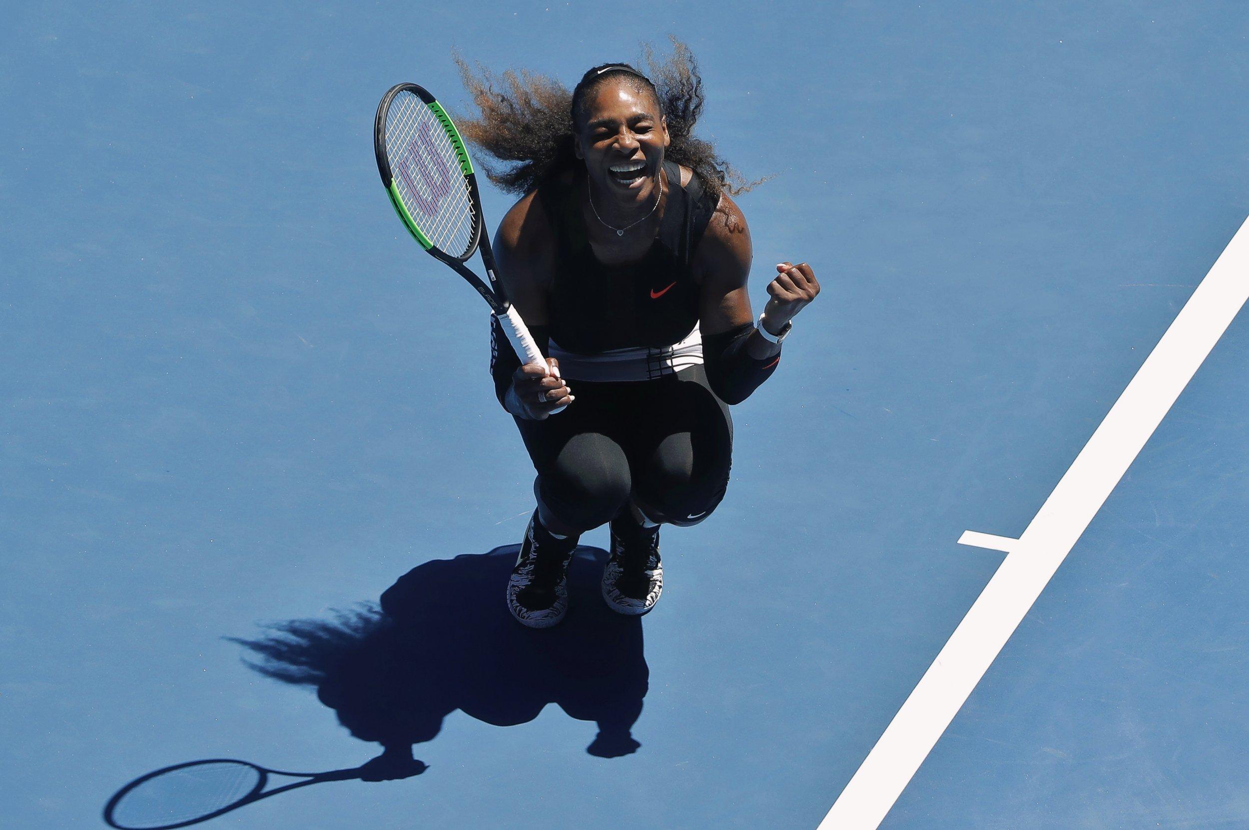Serena Williams, 23 times a Grand Slam singles winner, is pregnant.