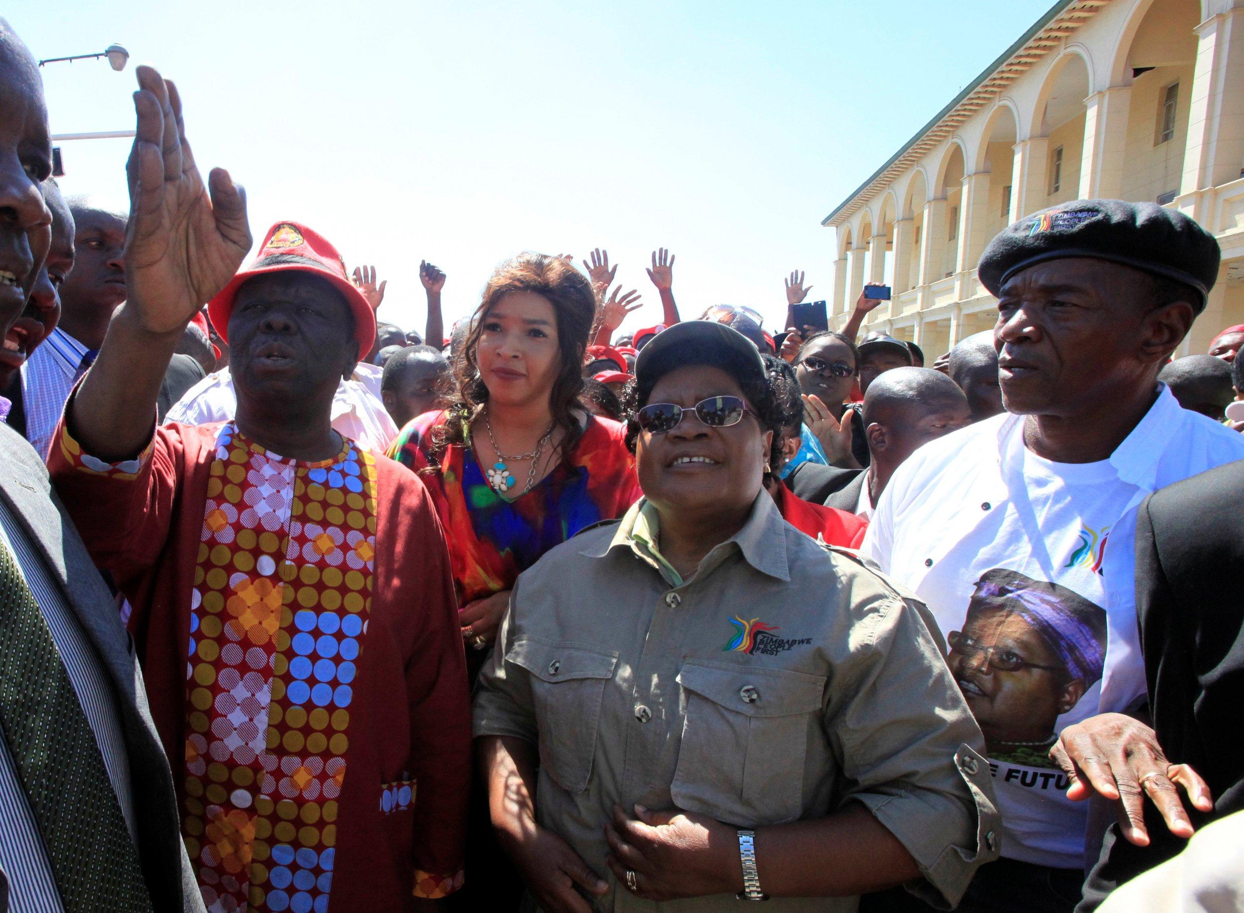 Tsvangirai and Mujuru