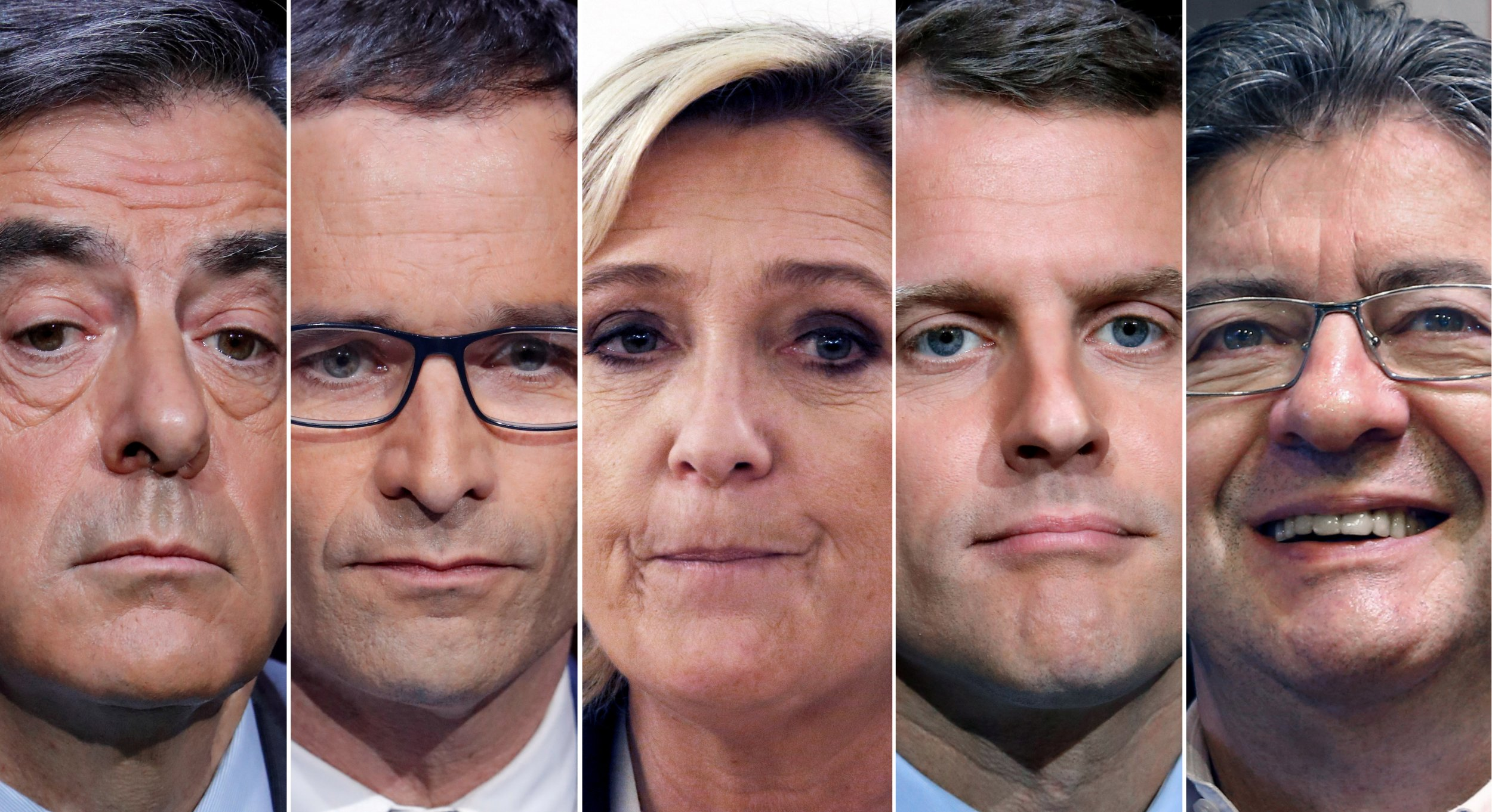 French election 2017 presidential candidates