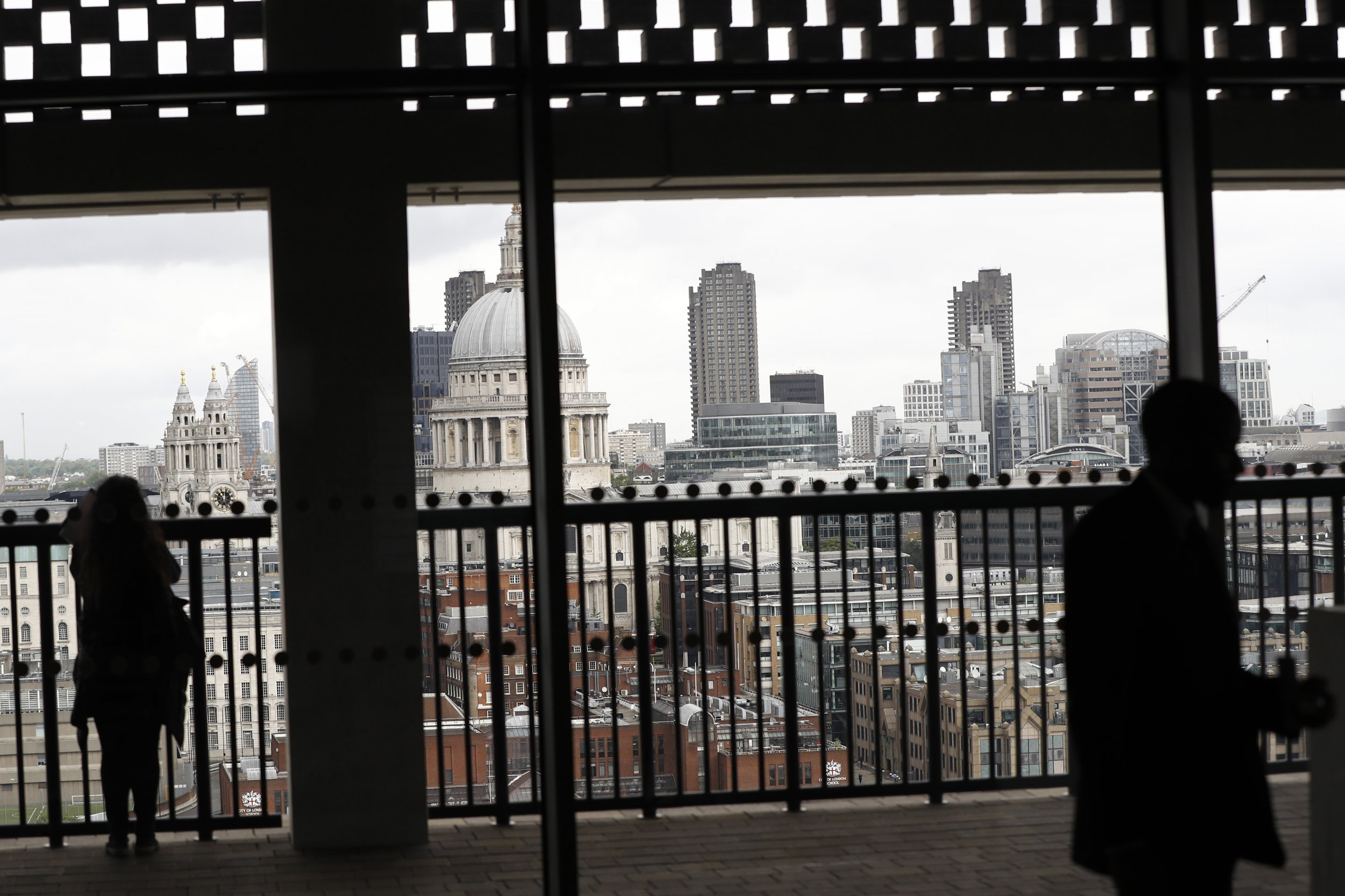 Luxury Apartment Owners in London Sue Tate Modern Over Viewing Platform