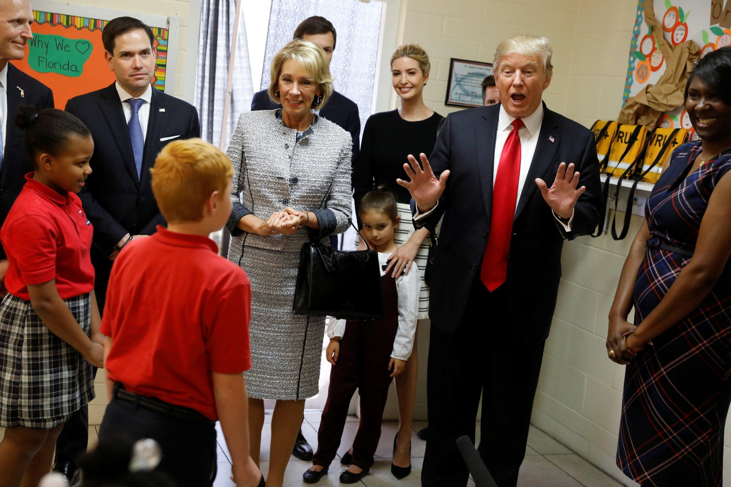 Donald Trump and Ivanka