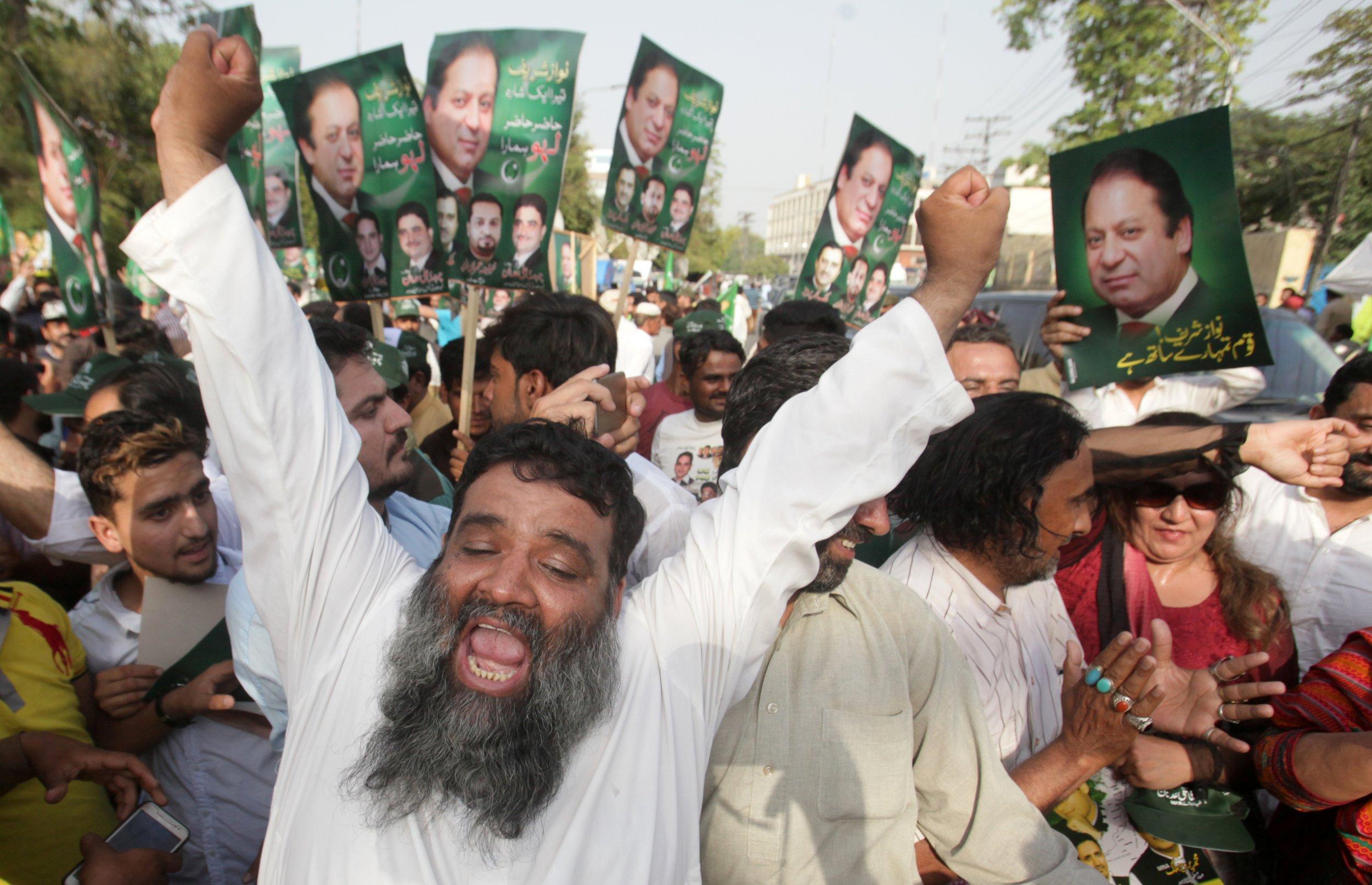 Support Nawaz Sharif