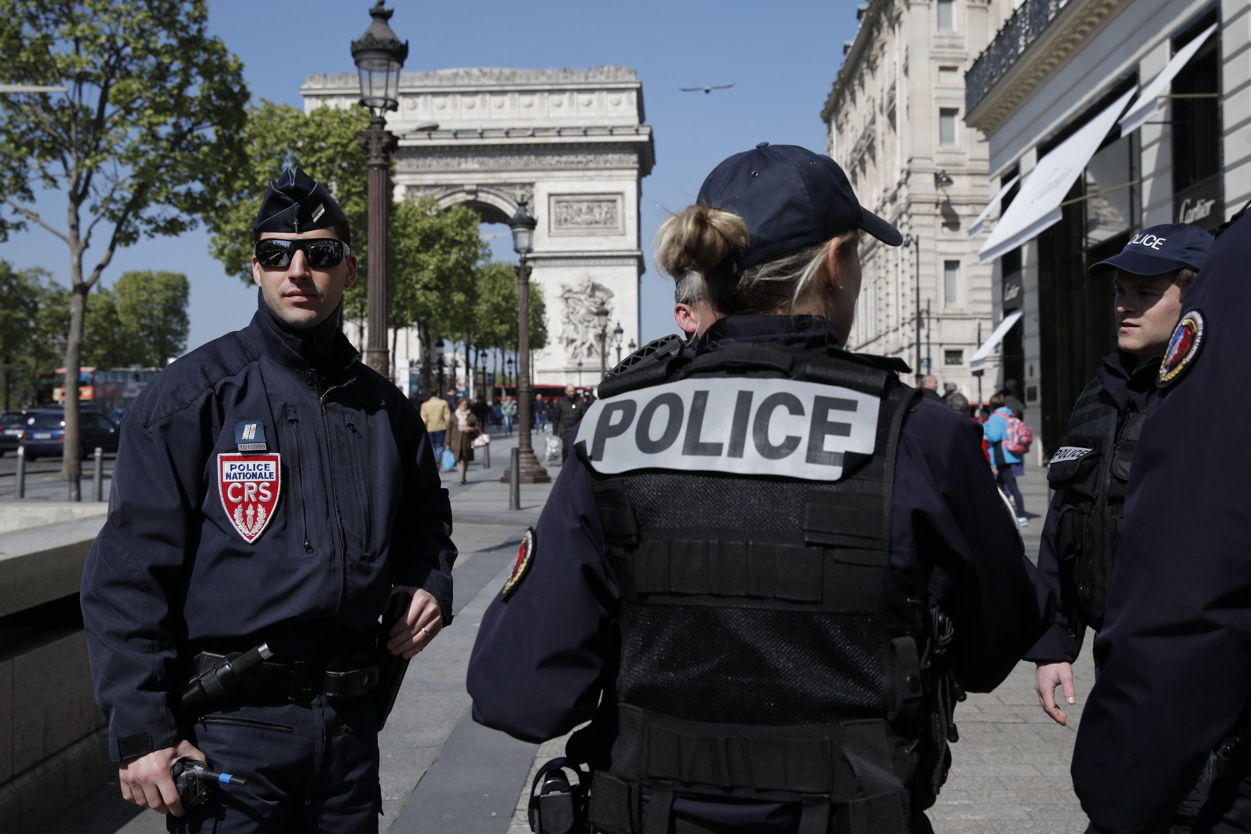 Champs-Élysées Attack Strikes a Country Where Police Are ...