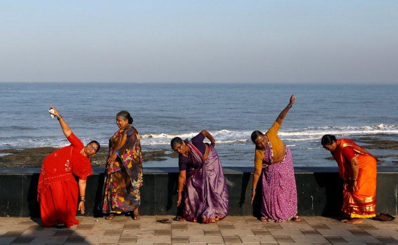 India women exercise